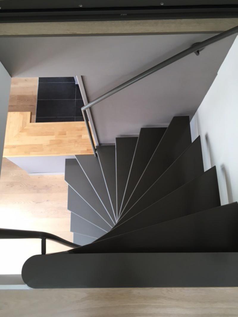 Escaliers et Aménagement intérieur - CARLO métallerie Saint Malo